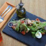 ダイエットの味方、サブウェイの野菜サラダ。