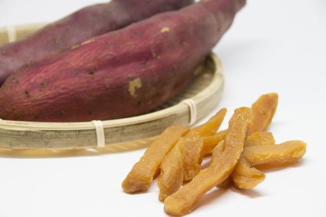 干し芋で置き換えダイエット!低GI値&食物繊維に期待